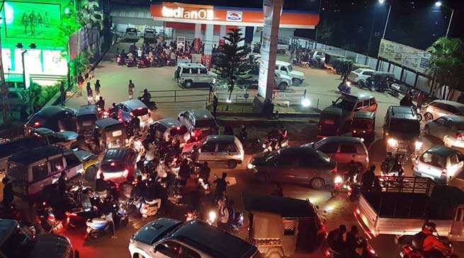 Impact of Assam's anti CAB protest : Arunachal facing fuel crisis