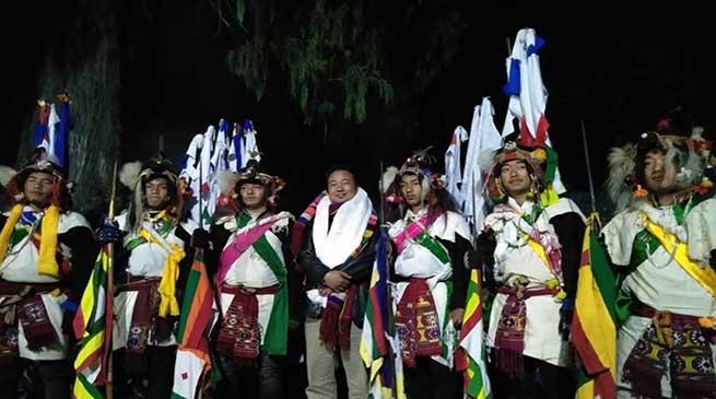 Arunachal: Shertukpen Tribe celebrated Khiksaba Festival