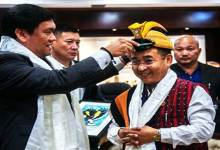 Sikkim CM Prem Singh Tamang calls on Arunachal CM Pema Khandu