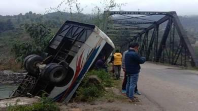 Arunachal: Night super passenger bus met with an accident, several injured