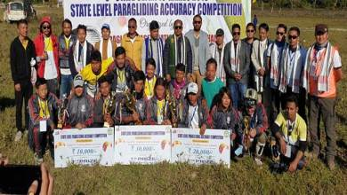 Photo of Arunachal: State level paragliding competition 2019 concluded