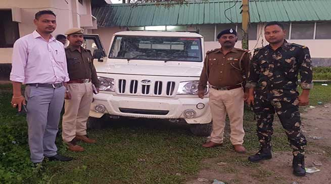 Itanagar: Capital Police recovered stolen vehicle