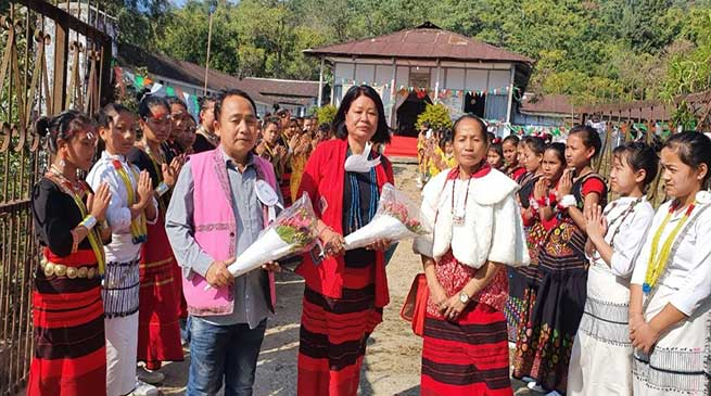 Arunachal: KGBV Yagrung observes its 14th Annual Foundation Day
