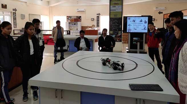 LEGO EV3 Robotic Competition held