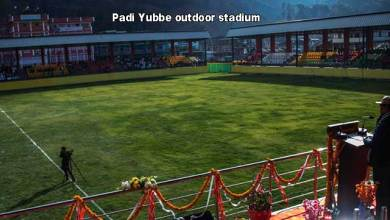 Arunachal: Khandu dedicates Padi Yubbe outdoor stadium to the people of Lower Subansiri