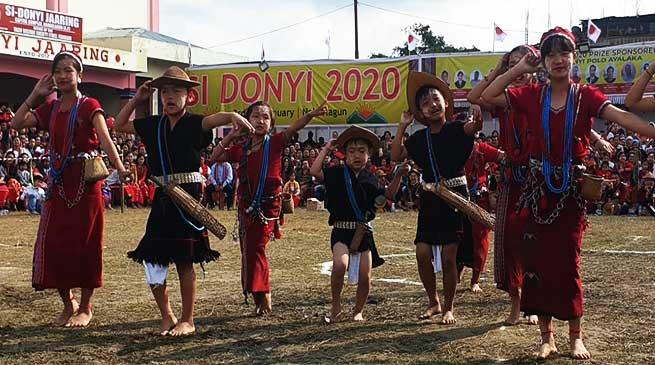 Arunachal: Si Donyi festival celebrated at Naharlagun
