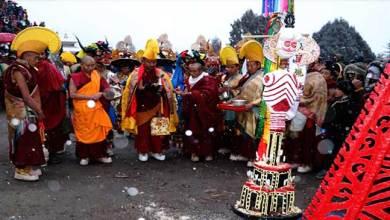 Photo of Arunachal: TOR-GYA a monastic dance with rituals festival begins in Tawang