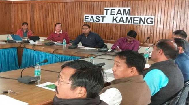 Take the possession of Govt. Secondary School, Bameng from ITBP at the earliest- DC East Kameng