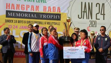 Photo of Hangpan Dada tournament: Governor attends closing ceremony