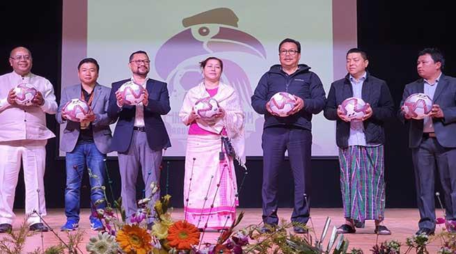 Arunachal: Chowna Mein inaugurates Indrajit Namchoom Arunachal League 2020