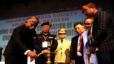 Photo of Arunachal Governor launches centenary celebration of Indian Red Cross Society