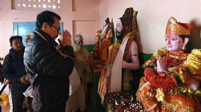 Arunachal: Chowna Mein announces Parshuram Kund Mela a calendar event to boost spiritual tourism