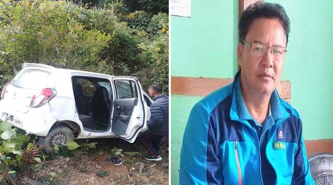 Arunachal: Police officer dies in a road accident near Pakke Kessang