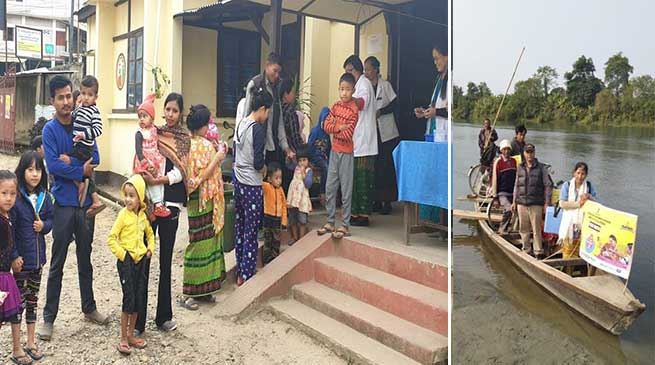Arunachal: Pulse Polio drive held across the state