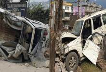 Itanagar: Rash driving hits and damages several vehicles, driver arrested