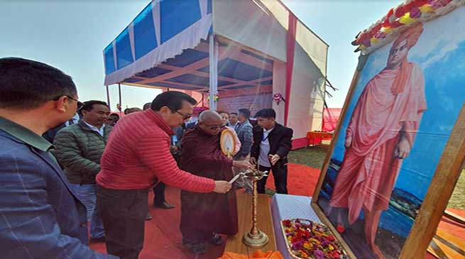 Arunachal: Chowna Mein inaugurates VKV Namsai