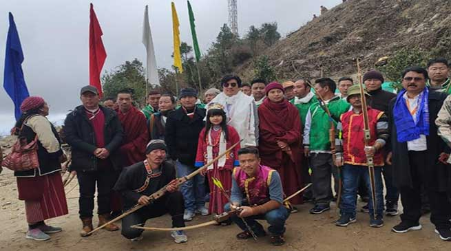 Arunachal: 7th Pedung Archery tournament begins