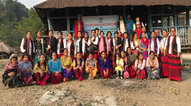 Arunachal: ABKWW East Siang conducted mass awareness campaign