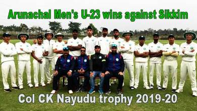 Photo of Col CK Nayudu trophy 2019-20: Arunachal Men's U-23 wins against Sikkim