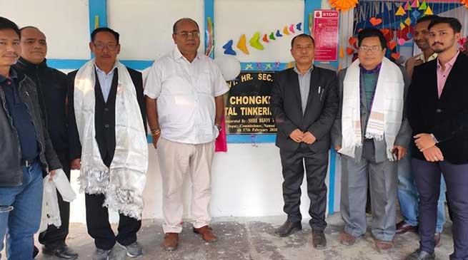 Arunachal: NITI Aayog's Atal Tinkering Lab inaugurated at Chowkham