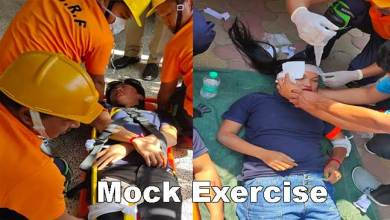 Photo of Itanagar: Mock Exercise conducted to check Earthquake Preparedness