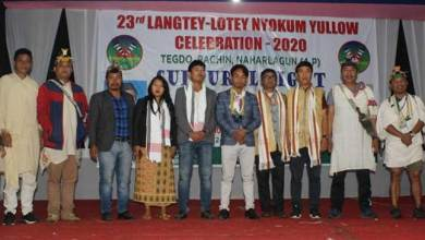 Photo of Arunachal: Nyokum Yullow celebrated at Pachin