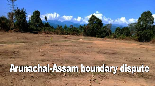 Arunachal-Assam boundary dispute: Video of Dollungmukh goes Viral