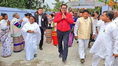 Photo of Arunachal: Chowna Mein suggests waging war against drugs