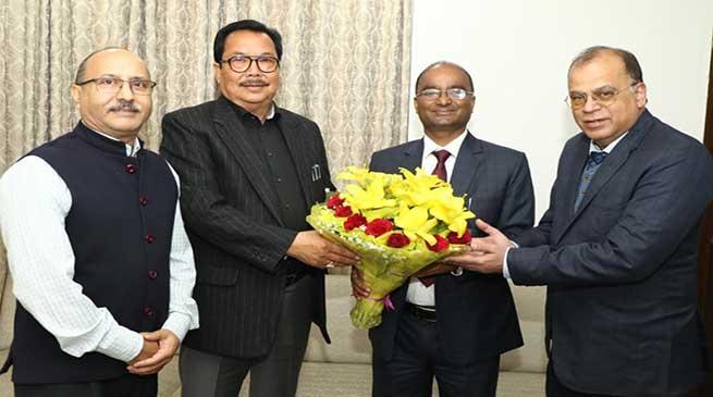 Arunachal: Hydro Power Development has started a renewed journey in the State- Chowna Mein