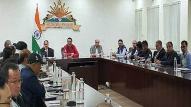 Photo of Arunachal: Mein holds a meeting of Hydro Power Developers and DCs