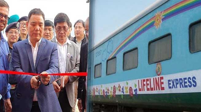 Arunachal: Alo Libang inaugurates Lifeline Express