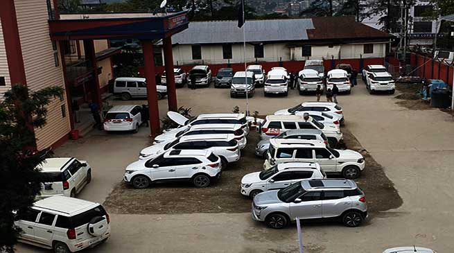 Itanagar: recovery of stolen vehicles continues, number reaches up to 16