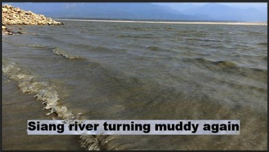 Photo of ALERT: Siang river in Arunachal turning muddy again