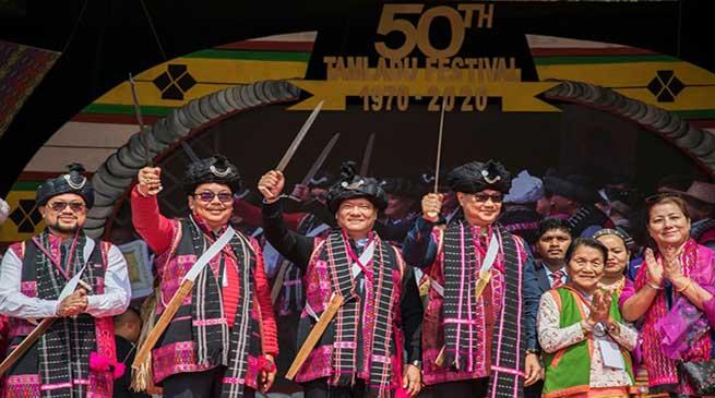 Arunachal: Khandu attends Golden Jubilee celebration of Tamladu festival