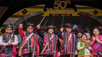 Photo of Arunachal: Khandu attends Golden Jubilee celebration of Tamladu festival