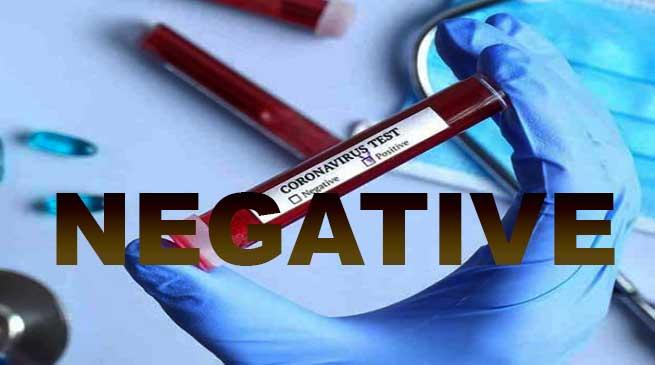 COVID-19: First sample tested negative in Arunachal Pradesh