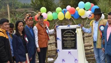Photo of Arunachal:Honchun Ngandam lays foundation stone of RCC bridge over Nimte river