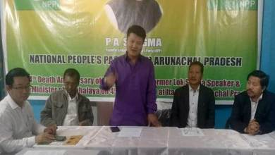 Arunachal: State NPP Observed 4th Death Anniversary of Late PA Sangma