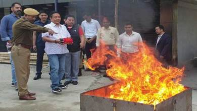 Photo of Arunachal: Keep at least one fire extinguisher at home- PD Sona