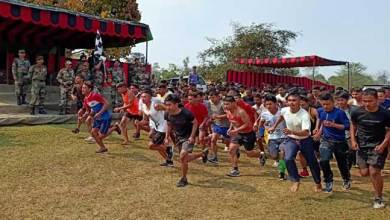 Photo of Arunachal: Over 1500 youths turned out in Army Recruitment Rally at Jairampur