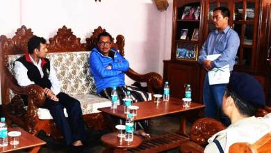Photo of Arunachal: Chowna Mein meets the family members of Balijan Krisikro,