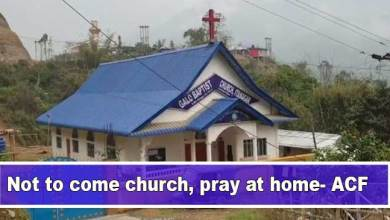 Photo of Coronavirus Scare: Not to come church, pray at home- ACF
