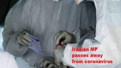 Photo of COVID-19: Iranian MP passes away from coronavirus