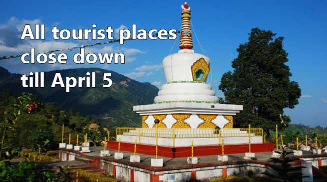 Coronavirus Scare: Gompa, Ganga lake, Itafort, IG park and other tourist places close down till April 5