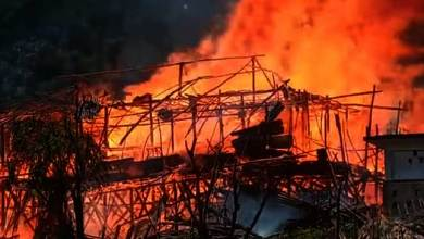 Photo of Arunachal: Massive fire in Kaying Village, 54 houses gutted