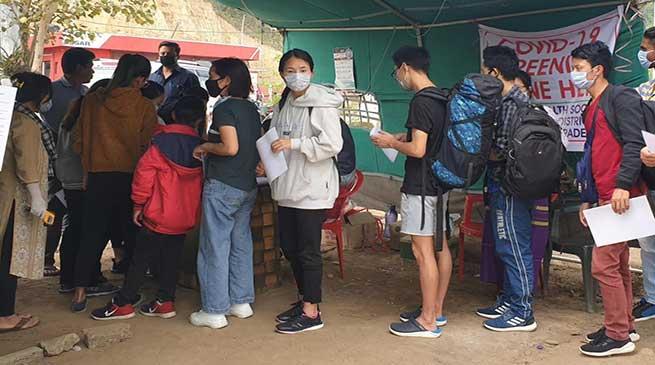 Covid-19 Scare: Lockdown in Arunachal Pradesh begins