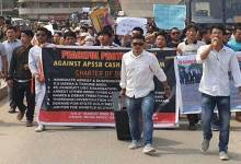 APSSB Job Scam: Protest march by aspirants