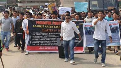 Photo of APSSB Job Scam: Protest march by aspirants