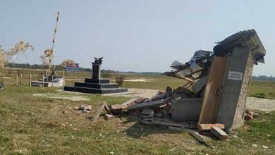 Photo of Arunachal: Assam forest officials demolished structure at Nyokum Ground in Kakoi- Villagers