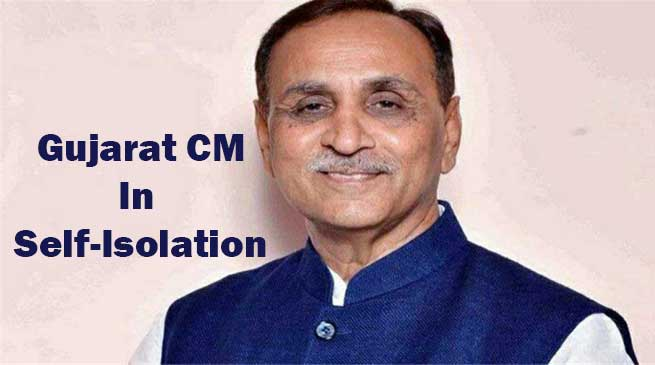 Gujarat CM, Ministers In Self-Isolation After Cong MLA Tests Covid-19 positive